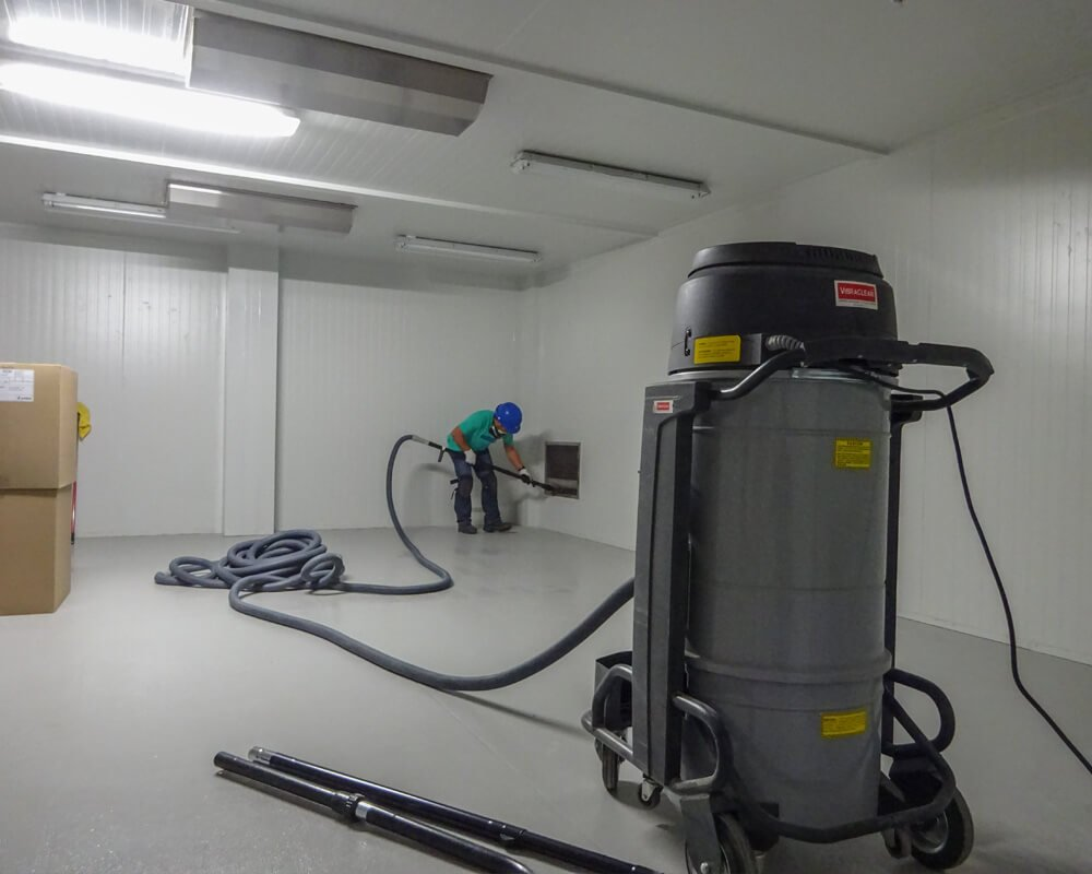 Medical Cannabis Facility post-construction cleaning