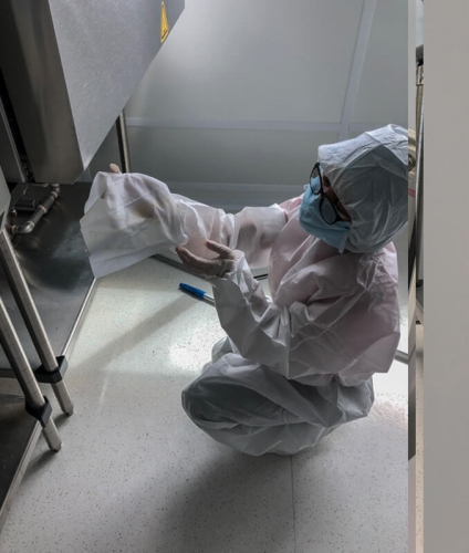 Post-Construction cleanroom cleaning