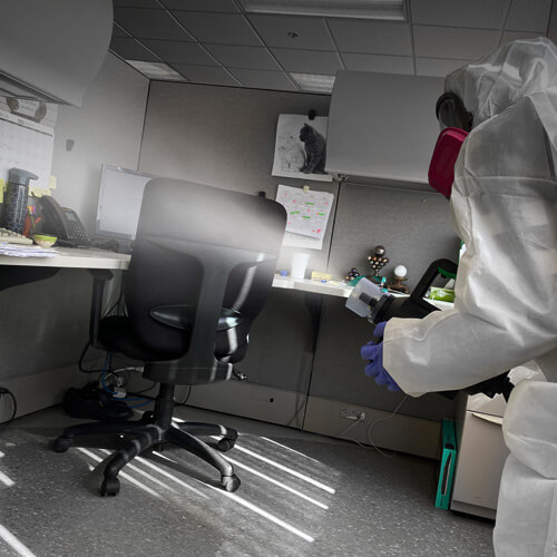 Vibraclean-biosafety disinfection service-iHP fogging