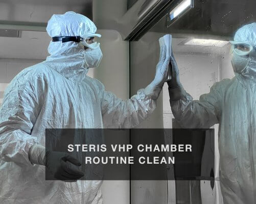 Steris VHP Chamber Routine Clean