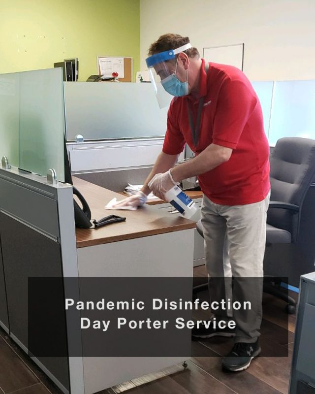 Pandemic Disinfection Day Porter Services